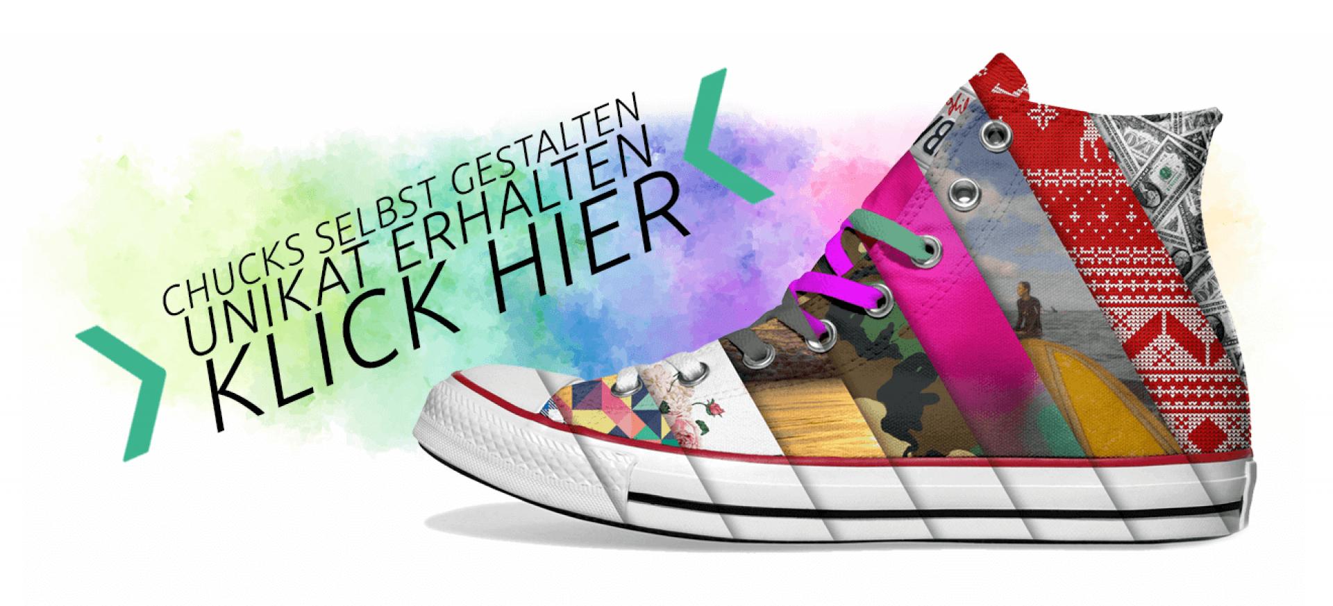 Create Your Own Inkicks Converse Chucks Selbst Gestalten