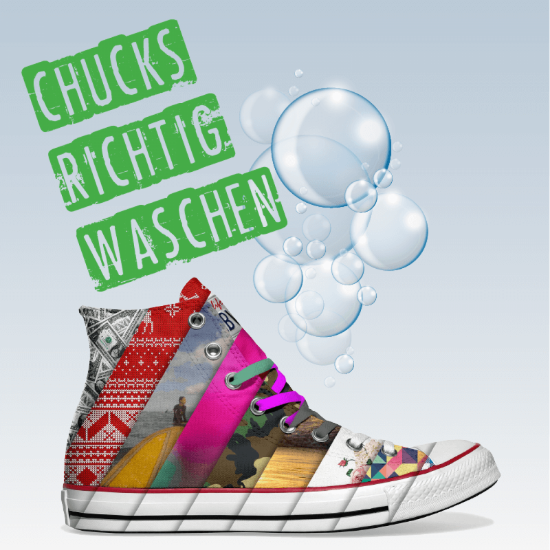 Converse Chucks waschen – die Anleitung | INKICKS | Converse Chucks ...